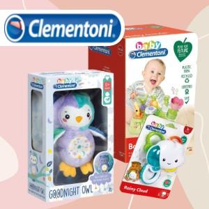 Clementoni bébijátékok