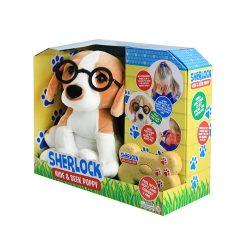 Sherlock, a bújócskázó kutyus