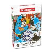 Waddingtons Number 1 - DC Comics Retro francia kártya