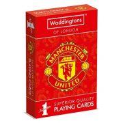 Waddingtons of London Nr. 1 -  Manchester United francia kártya