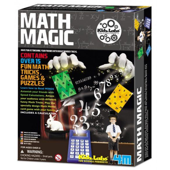 4M Varázslatos matematika készlet