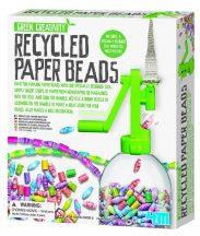 4M Alkoss zöldben - Tekercselt papírgyöngyök