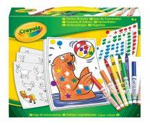Crayola Mókás matricázó készlet filctollal (660 db matricával)