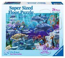 Ravensburger 05330 óriás padló puzzle - Óceán (24 db-os)
