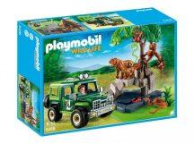 Playmobil 5416 Terepjárós vadőr, tigrisekkel és orángutánokkal