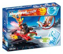 Playmobil 6834 Lángmanó a korongkilövőben