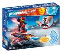 Playmobil 6835 Tûzrobi a korongkilövõben