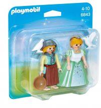 Playmobil 6843 Tubi hercegnő és Gerle Gilda Duo Pack