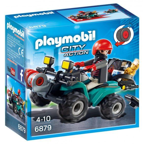Playmobil 6879 Műkincsrabló szuper kvadján