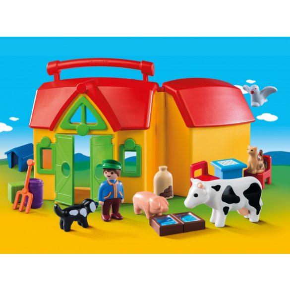 Playmobil 6962 Hordozható tanyácskám
