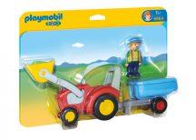 Playmobil 6964 Pali bácsi traktoron