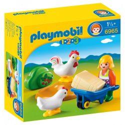 Playmobil 6965 Kakasszótól hangos az udvar