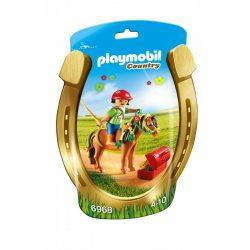 Playmobil 6968 Virágszriom és lovasa