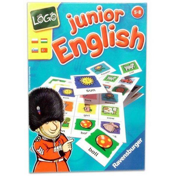 Logo Junior English oktató társasjáték