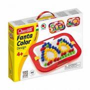 FantaColor tároló dobozos pötyi játék, pingvines - 100 db, 20 mm tüskével