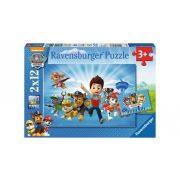 Ravensburger 07586 puzzle - Ryder és a Mancs őrjárat (2x12 db-os)