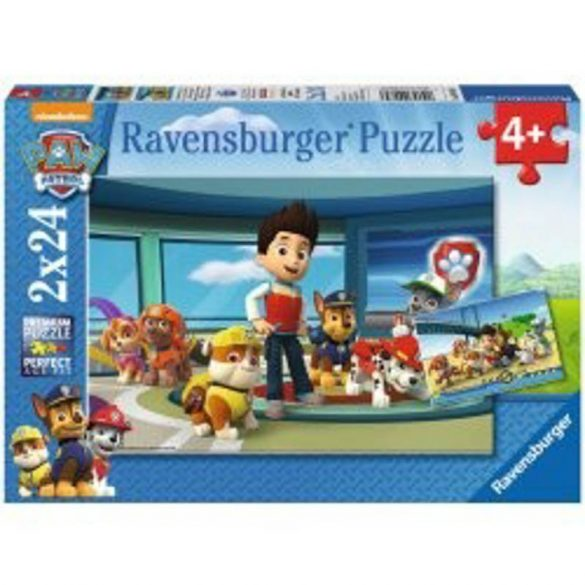 Ravensburger 09085 puzzle - Mancs őrjárat (2x24 db-os)
