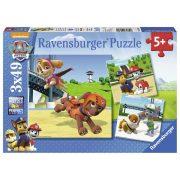 Ravensburger 09239 puzzle - Mancs őrjárat (3x49 db-os)