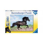 Ravensburger 12803 XXL puzzle - Fekete csődőr (200 db-os)