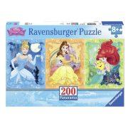 Ravensburger 12825 panoráma Disney puzzle - Csodaszép Disney hercegnők (200 db-os)