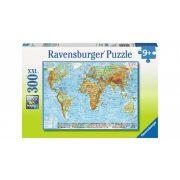 Ravensburger 13097 XXL puzzle - Politikai világtérkép (300 db-os)