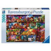 Ravensburger 16685 puzzle - Könyvek világa (2000 db)