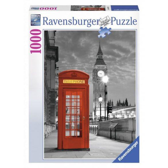 Ravensburger 19475 puzzle - Big Ben és telefonfülke, London (1000 db-os)