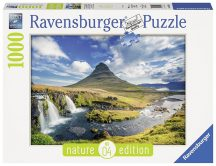 Ravensburger 19539 Nature Edition puzzle - Kirkjufell hegy (1000 db-os)