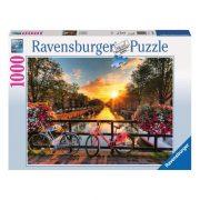 Ravensburger 19606 Puzzle - Amszterdami bicikli túra (1000 db-os)