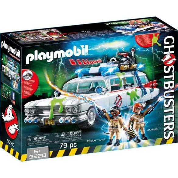 Playmobil Ghostbusters 9220 Szellemírtók Ecto-1 járgánya