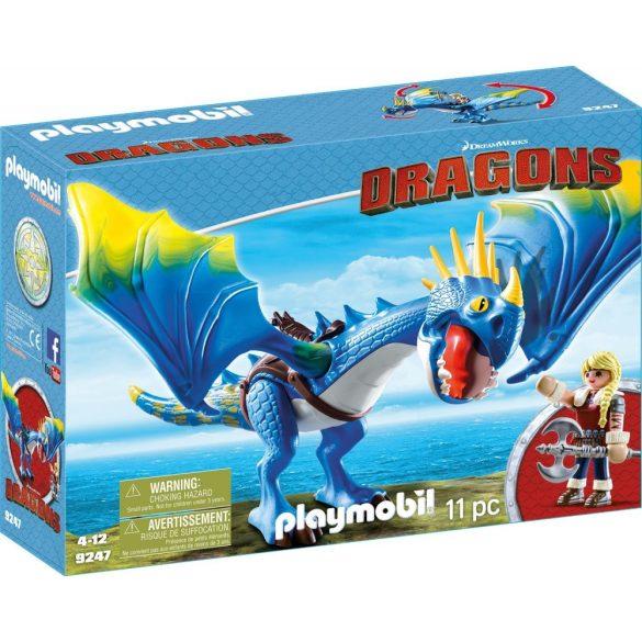 Playmobil 9247 Astrid és Viharzó
