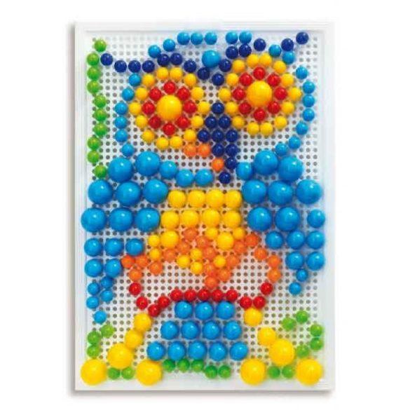 FantaColor tároló dobozos pötyi játék, bálnás - 280 db vegyes tüskével