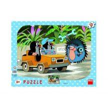Dino 30303 puzzle - Kisvakond autója (12 db-os)