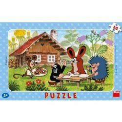 Dino 30116 puzzle - Kisvakond látogatóban (15 db-os)