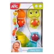ABC Vízforgató hernyó bébi fürdõjáték
