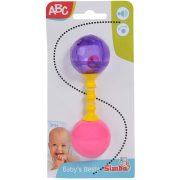 ABC Első csörgőm pink és lila színben