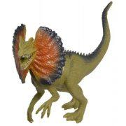 Dilophosaurus dinó figura (zöld)