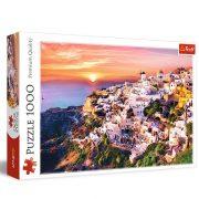 Trefl 10435 Premium Quality puzzle - Santorini naplementében (1000 db)