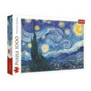 Trefl 10560 Art Collection puzzle - A csillagos éjszaka, Van Gogh (1000 db)