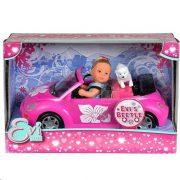 Steffi Love - Évi Love baba Volkswagen Beetle autóval