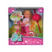 Évi Love - Évi baba rózsaszín kerékpárral