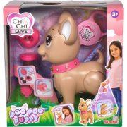 Chi Chi Love Poo Poo Puppy Sétáló kutyus kiegészítõkkel