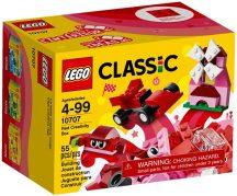 LEGO Classic 10707 Piros kreatív készlet