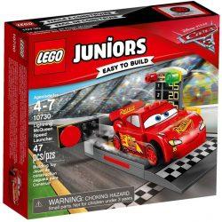 LEGO Juniors Verdák 10730 Villám McQueen versenyautó indítója
