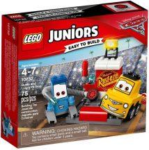 LEGO Juniors 10732 Guido és Luigi boxutcája