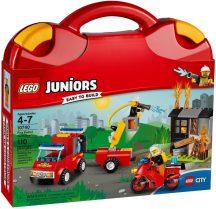 LEGO Juniors 10740 Tűzoltó járőr játékbőrönd
