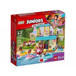 LEGO Juniors 10763 Stephanie tóparti háza