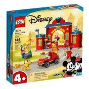 LEGO Disney 4+ 10776 Mickey és barátai tûzoltóság és tûzoltóautó