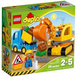 LEGO DUPLO 10812 Teherautó és exkavátor