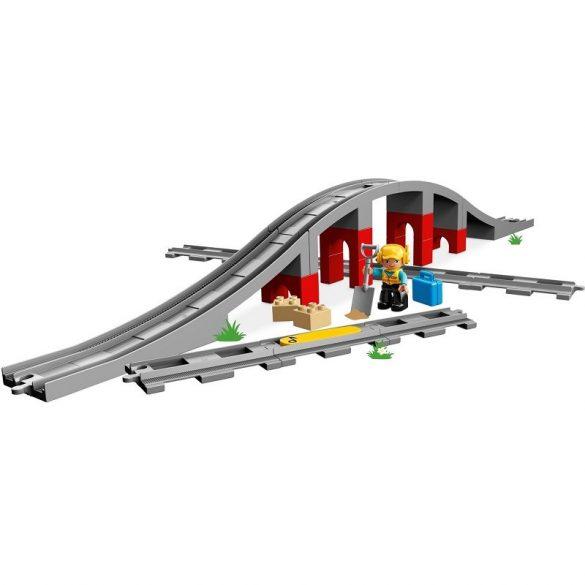 LEGO DUPLO Town 10872 Vasúti híd és sínek